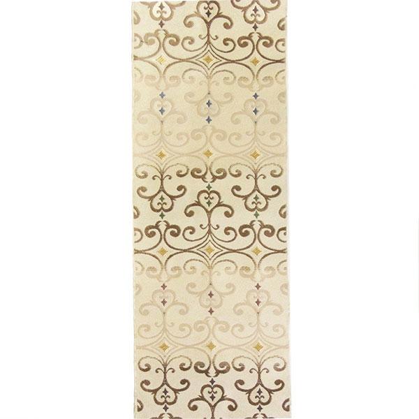 「ペルシャ華紋」両面表西陣織半幅帯